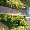 Главный вход с балкона