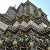 Храм Лежащего Будды . Ступа
