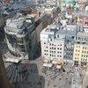 Вид с башни на Стефансплатц