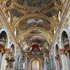 В Университетской церкви (Собор Иезуитов). Обратите внимание на купол в верхней передней части фото - он нарисован!