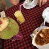 Сыр масала и кокосовое молоко.