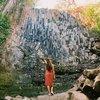 Пересохший водопад возле Suchitoto