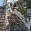 лестница перед входом на виллу