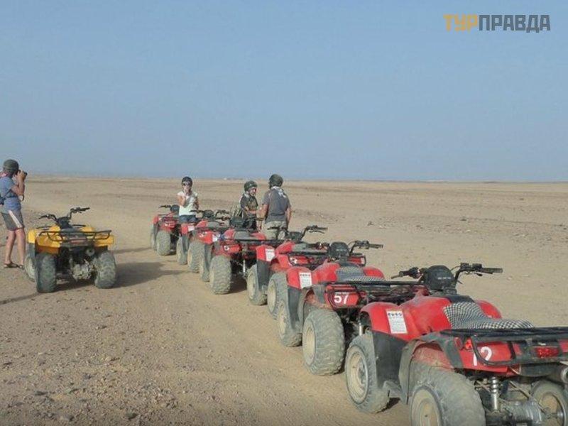 Экскурсия в пустыню в Хургаде