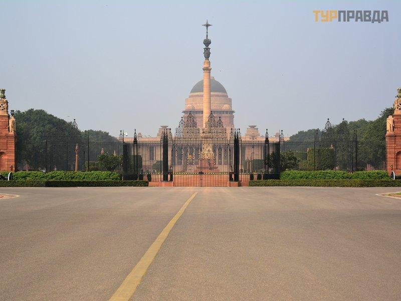 Президентский дворец Раштрапати-Бхаван